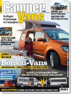 CamperVans Ausgabe Nr.02/2017
