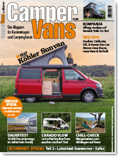 CamperVans Ausgabe Nr.06/2017