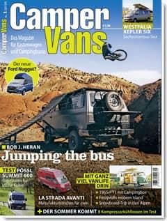 CamperVans Ausgabe Nr.01/2018