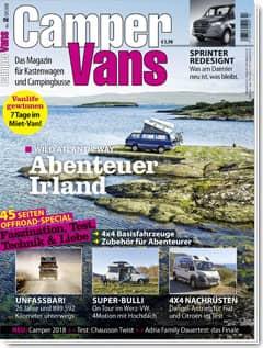 CamperVans Ausgabe Nr.02/2018
