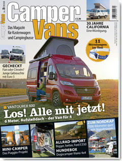 CamperVans Ausgabe Nr.03/2018