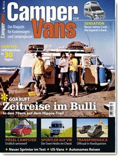 CamperVans Ausgabe Nr.04/2018