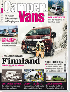 CamperVans Ausgabe Nr.06/2018