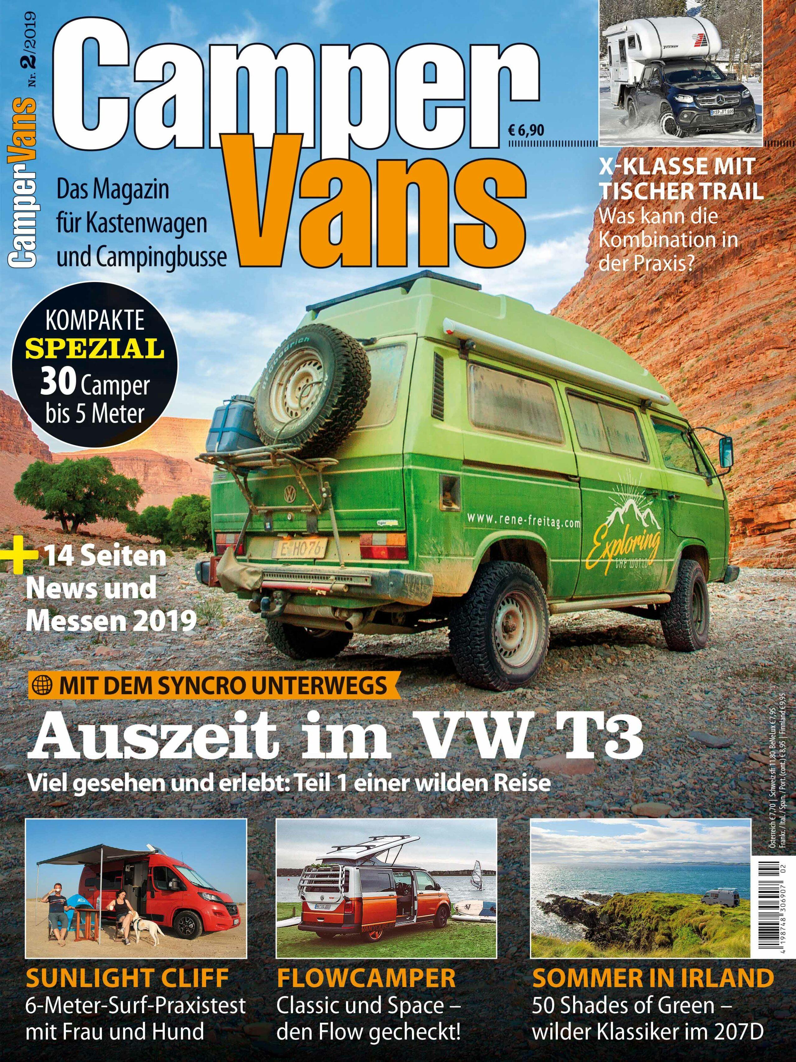 CamperVans Ausgabe Nr.02/2019