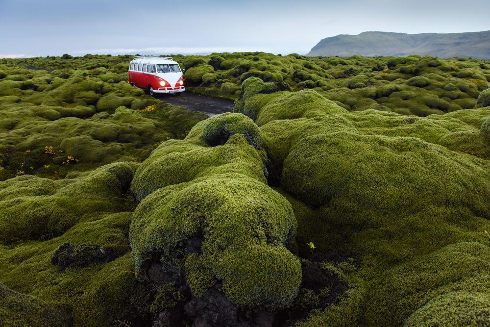 Island Reise im VW T1 Bulli