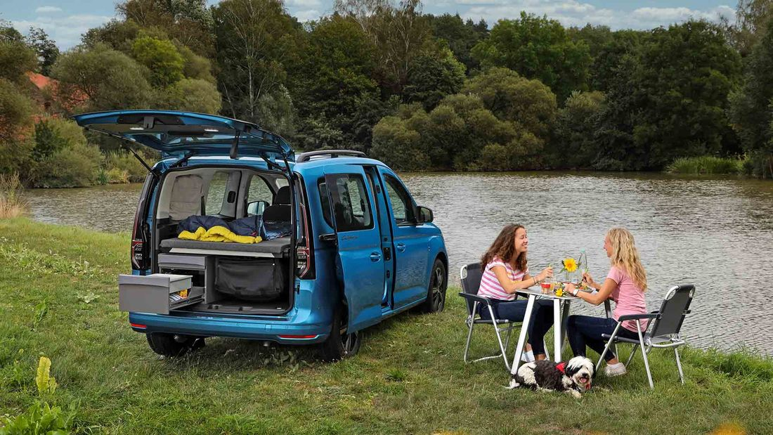 VW Caddy California 2021