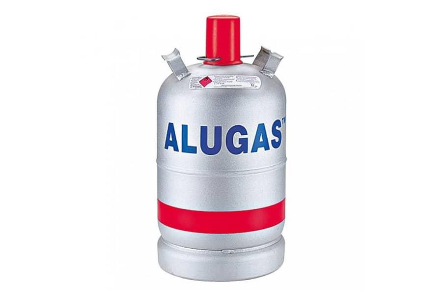 Zubehör-Basics: Gasflasche Alugas