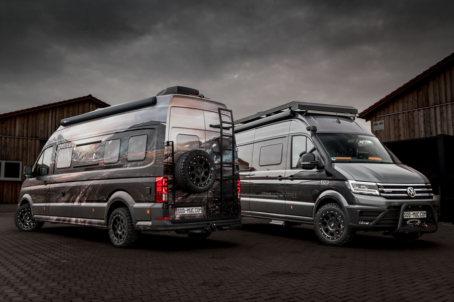 Stone Offroad Design GmbH: Camper auf VW Grand California 680