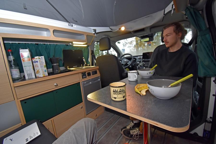 Test Southvan Camper auf Ford Transit Custom